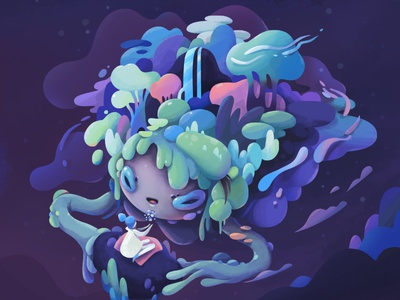 Mother Earth conceptart concept chaarcter illustration zutto