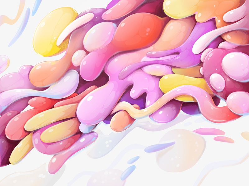Procreate drawing drawing procreate clor colorful design concept abstract illustration zutto