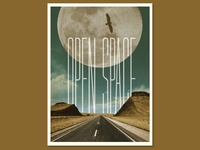 Open Space Poster