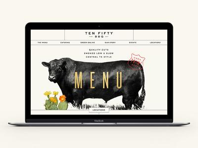 Ten 50 BBQ Website