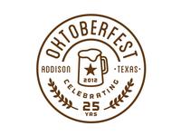 Oktoberfest Concept Logo
