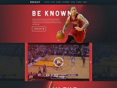 Michael Beasley Homepage
