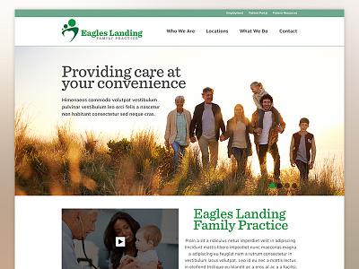Eagles Landing Family Practice - Homepage WIP