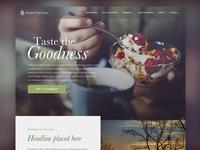 Knotty Pine Farms Homepage Option