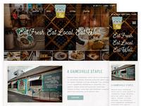2dog Restaurant Website