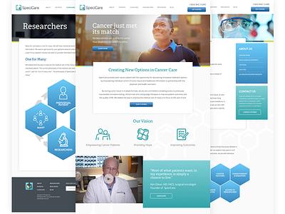 Specicare New Website