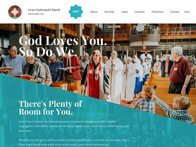 Grace Episcopal Church Site Update