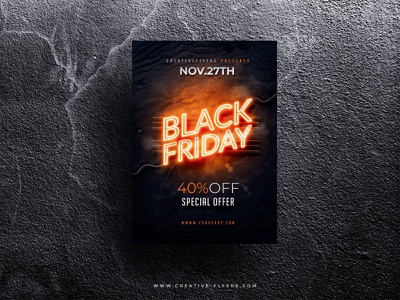 Black friday flyer template psd flyer psd poster photoshop illustration graphic design flyer templates flyer cyber monday creative black friday blackfriday