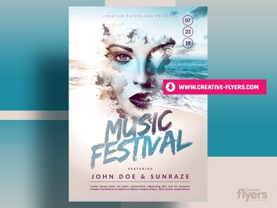 Photoshop Summer Poster printing prints graphic designer posters a3 posters a3 affiche posters music effects beach psd flyer design party flyer creative graphic design flyer templates poster summer photoshop