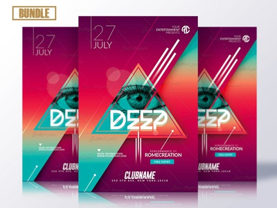 10 Flyer Templates - Bundle