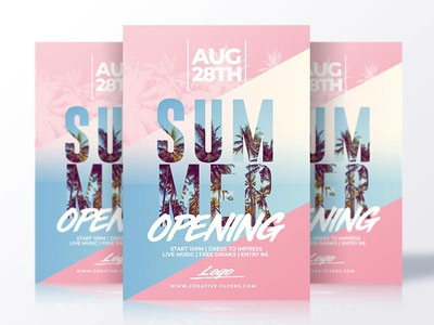 Summer flyer templates flyer party summer psd creative flyer flyer templates psd templates summer poster invitation psd psd flyer summer flyer