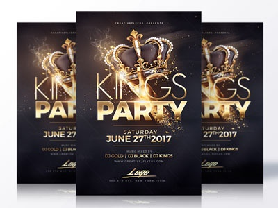 Night Club Flyer Psd party flyer gold party black poster design free flyer photoshop psd creative flyer flyer design flyer psd graphic design flyer templates night club