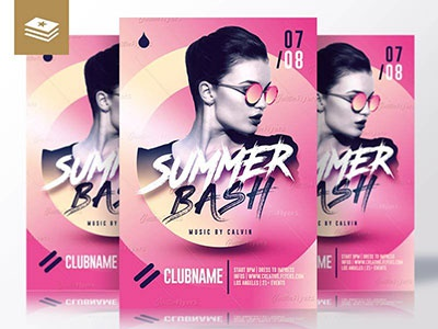 Summer Bash Templates templates summer party photoshop pool party nightclub graphic design summer graphics flyer templates summer bash party flyer summer flyer
