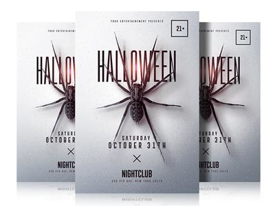 Halloween Flyer Template flyer party psd flyer graphic design poster art poster spider halloween carnival party flyer halloween bash halloween flyer photoshop minimal flyer design halloween