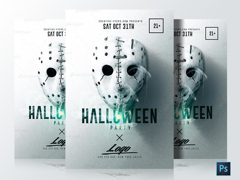 halloween flyer template minimalist design minimalist psd flyer graphic arts graphic design graphic art design poster