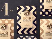 New Year Classy Invitations
