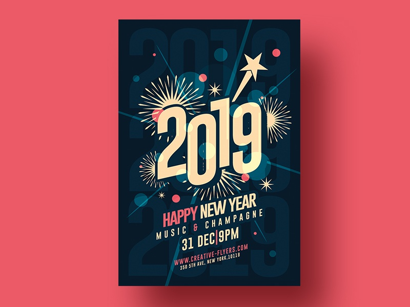 2109 new year invitation invitation design invitation cards invitation card invites celebrate psd psd flyer creative
