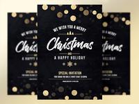 Elegant Christmas Invitation