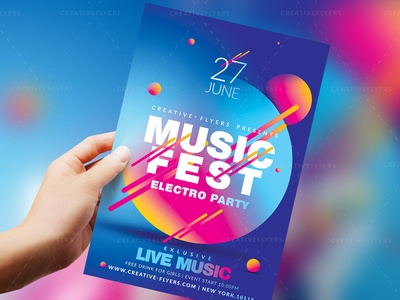 Music Festival Flyer And Posters
