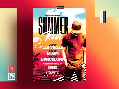 Summer Flyer & Poster Template