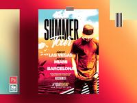 Summer Flyer & Poster Template