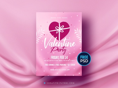 Valentines Day | ‎Free Flyer PSD