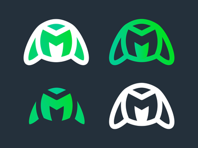 Maniphest   Logo Variations   Logoboard controller video game musician edm cover art playstation xbox maniphest vector minimal graphic design logo design clean branding art