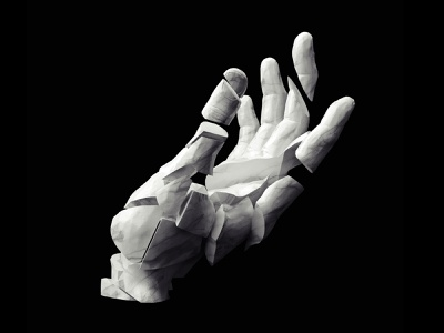 Drama marble hand drama design render cgi cinema4d c4d