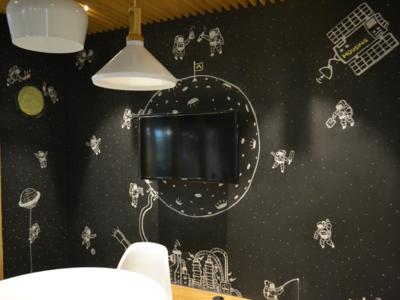 Housing On Moon - Doodling
