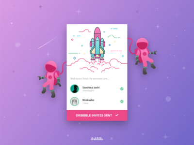 Announcing Dribbble Winners