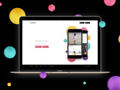 Roposo Homepage Exploration