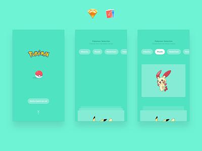 Pokemon Go Interaction Freebie sketch flinto plusle pikachu cartoon network pokemon pokemongo
