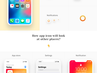 App Icon Template FREEBIE play store app store app sketch freebie storytelling presentation preview android ios app icon free