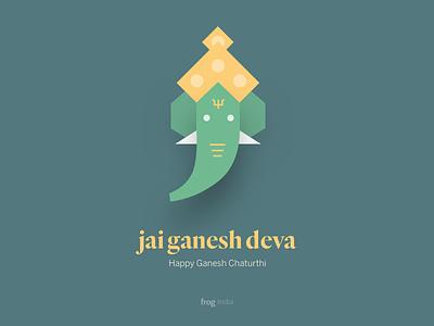 Jai Ganesh Deva ganesha shiva lord india janesh chaturthi loed ganesh god