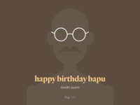 Happy birthday Bapu