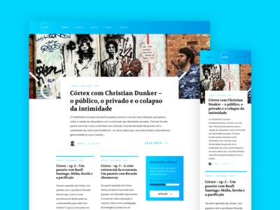 Fluxo - blog wip