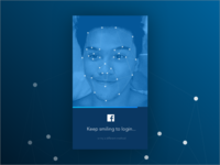dailyui nº1 – Keep smiling to login