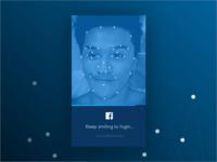 dailyui nº1 – Keep smiling to login