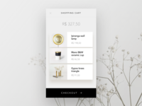 #dailyui nº2 — ecommerce cart view