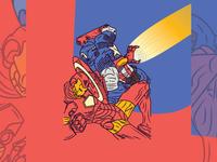 DAY 22/31 - Captain America Vs. Iron Man (Civil War)