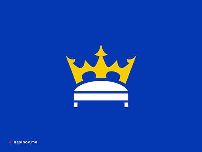 Sleep King logotype corporate bed stationary designer berlin designer berlin identity brand branding logo