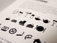 Icons I've designed for my 2011 bachelor thesis