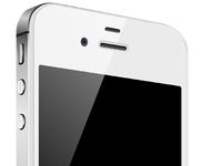 iPhone 4 Illustrator Mockup