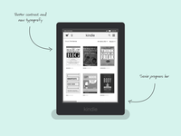 Kindle UI Redesign
