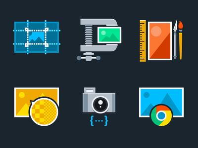 Image Processing Icons imgix svg vector density pixel dpr webp crop images