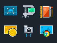 Image Processing Icons
