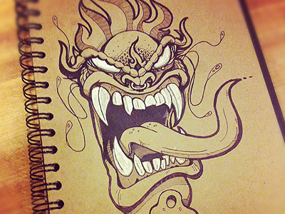 Dragon dribbble