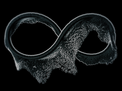 Bubble loop 3d c4d motionpoem abstract
