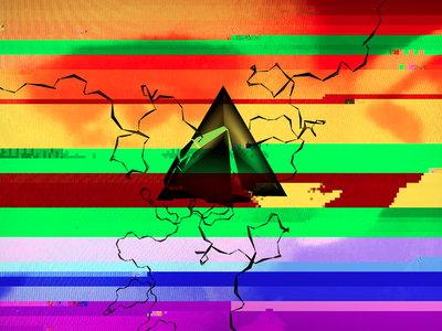 Glitch pyramid