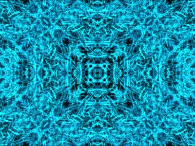 Kaleidoscope c4d 3d glow kaleidoscope abstract